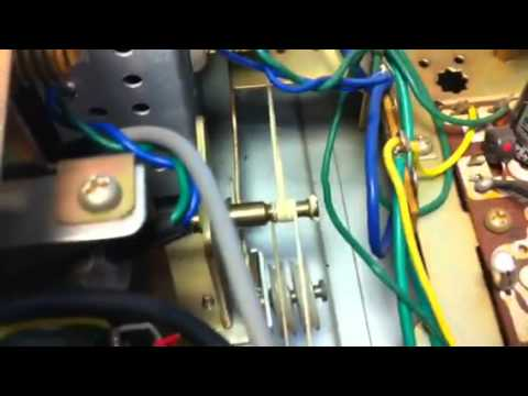Inside a JVC 44MM-1000 4 Way Receiver.