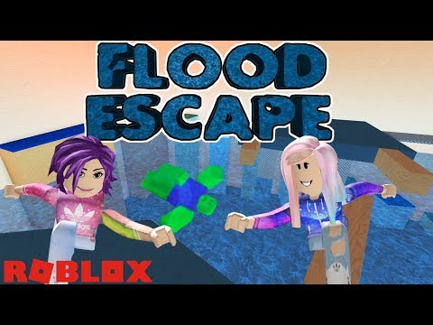 Roblox: Flood Escape / Push the Buttons and Parkour to Escape the Flooding Facility!