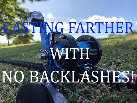 Abu Garcia's Ambassadeur Blue Yonder Baitcast Reel! Cast Farther!