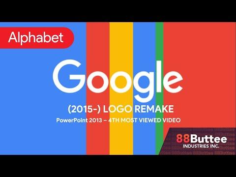 Google Logo (Remake) (PowerPoint 2013)