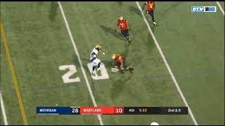 2017: Michigan 35 Maryland 10