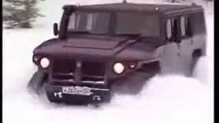 ГАЗ-2330 или руския HUMMER в действие!