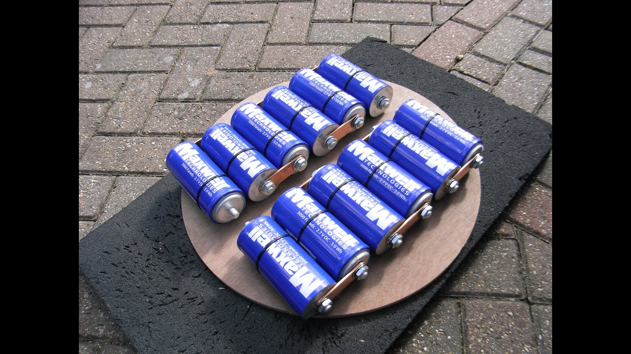 Maxwell Supercapacitors Car Battery