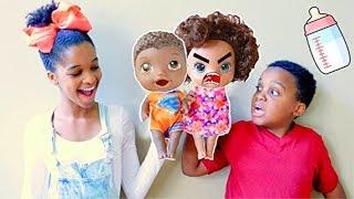Shiloh and Shasha get NEW TWIN BABIES - Onyx Kids