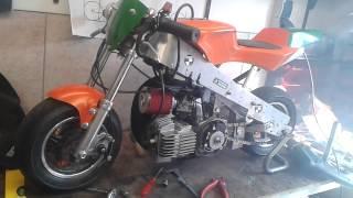 Zelfbouw puch minibike