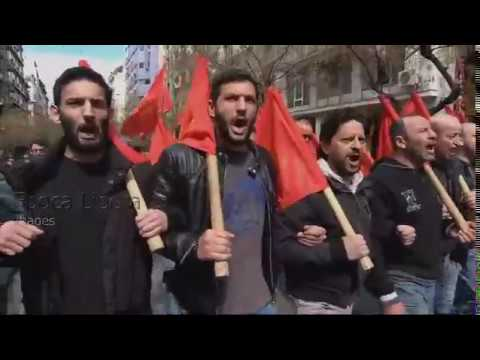 LIVE Construction workers rally in Athens during 24-hour strike