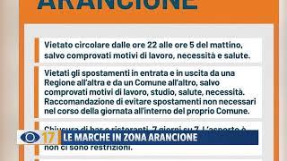 Da domenica 15 novembre scatteranno misure più restrittive per la nostra regione, perché le marche passano zona gialla a quella arancione.