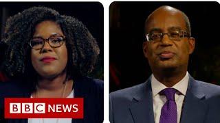 Trump impeachment hearing: A Democrat and a Republican react - BBC News
