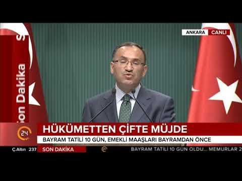 Bekir Bozdağ, Bakanlar Kurulu toplantısı sonrası açıklama yaptı