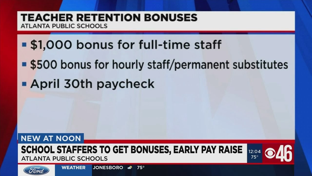 APS teachers, staff to get bonuses