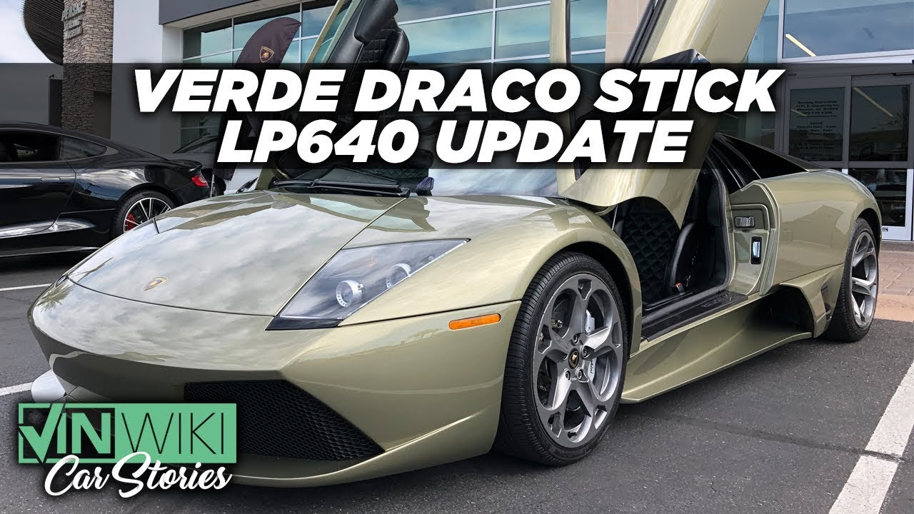 My Verde Draco Stick Lp640 Is Mostly Done Youtube