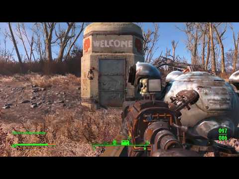 Fallout 4 testing new Mod The Calvin Coolidge Institute ( Underground Dungeon ) PS4