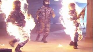 Каскадеры Stuntmen  Спецназовцы горят.