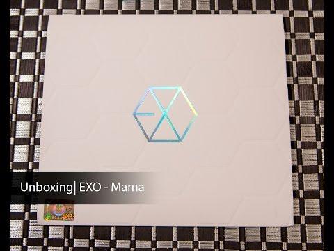 Unboxing | EXO 1st Mini Album - Mama (EXO-K)