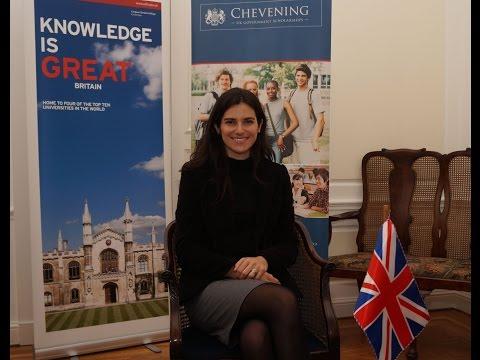 Chile - Chevening Alumni Interviews: María José Montero / Entrevistas con Becarios Chevening