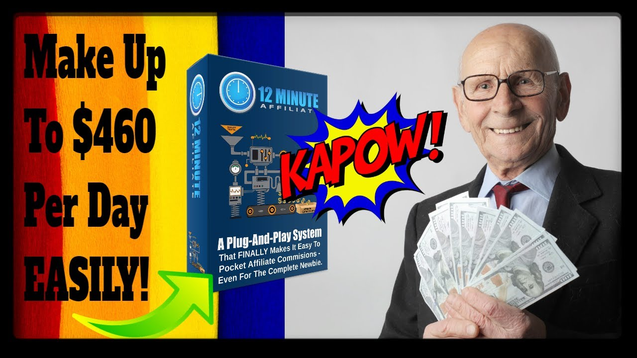 12 Minute Affiliate System Testimonial Reviews By Devon Brown   Make  460 Days In Just 12 Minutes