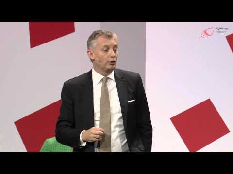 """Ulf Ewaldsson (Ericsson) about 5G and Future of Networks at """"digitising europe"""""""