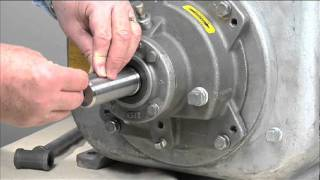 super t series pump maintenance pt 4 rotating assembly removal