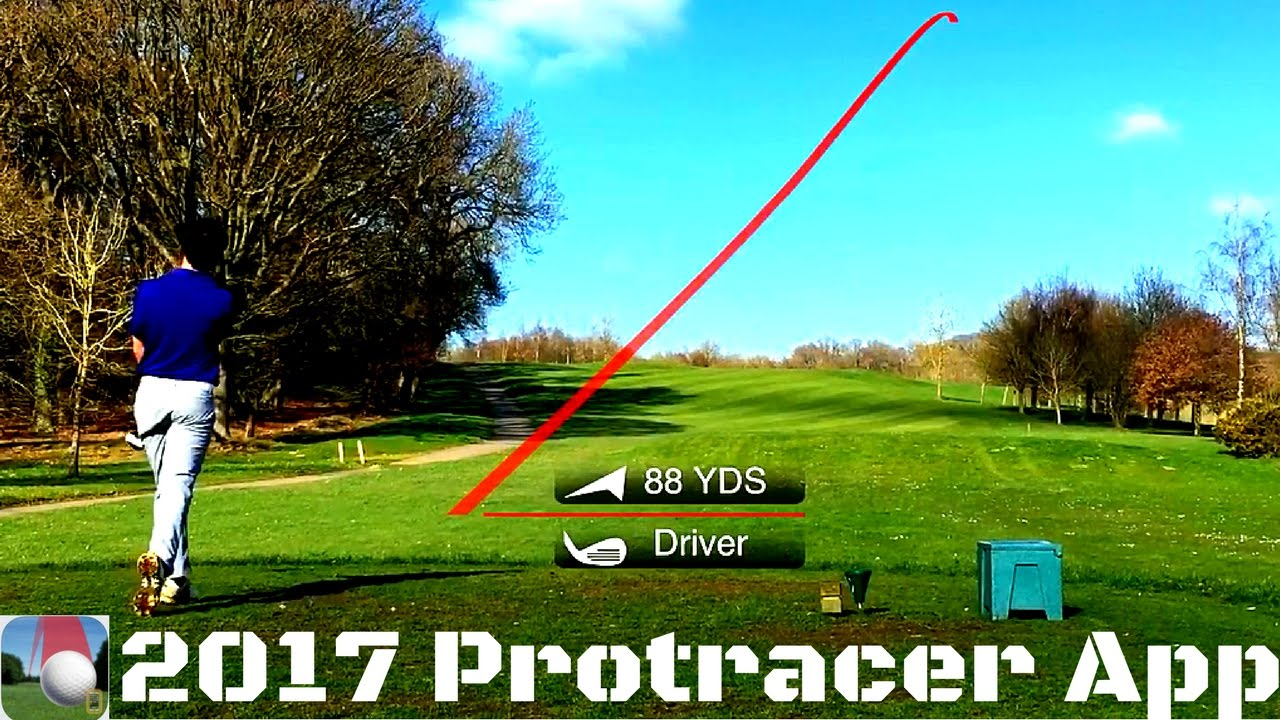 new 2017 shot tracer iphone app review protracer youtube