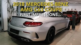 2018 Mercedes Benz AMG C63 S Coupe - First Impressions