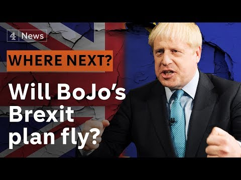 Will Boris Johnson's Brexit plan fly?