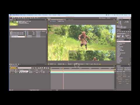 Telephone Wire Removal Demo After Effects Motion Tracking