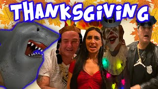 SHARK PUPPETS THANKSGIVING DISASTER!!!!!