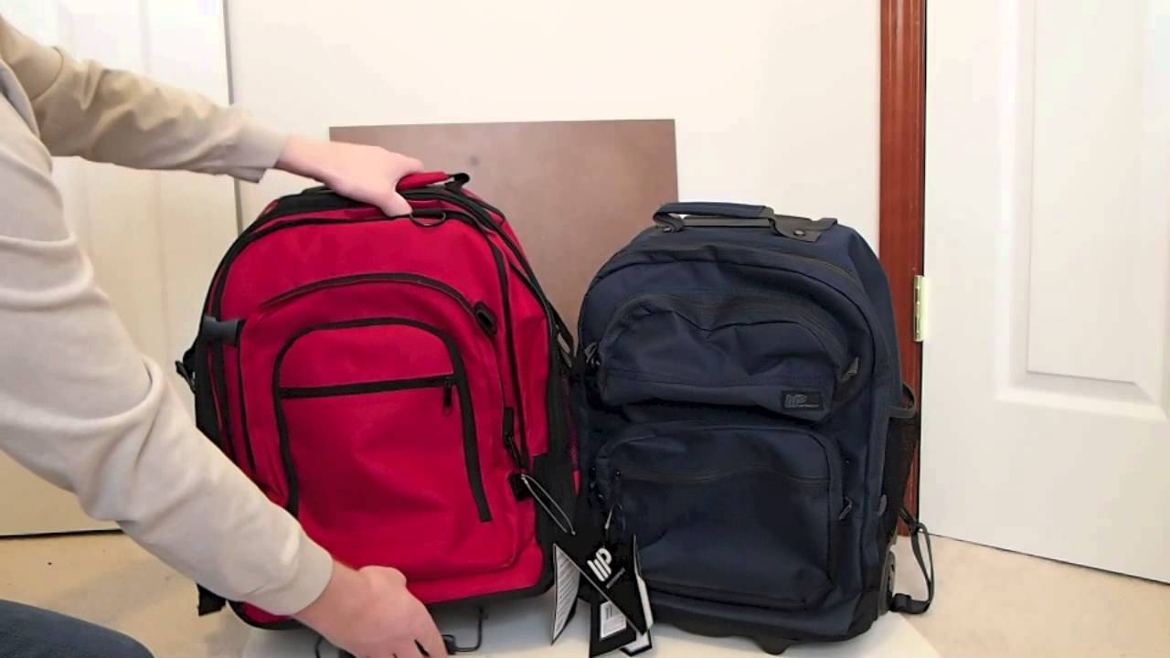 Western Pack XW18 and WB18 Rolling Backpacks - YouTube
