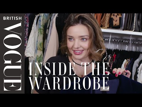 Miranda Kerr: Inside the Wardrobe  British Vogue