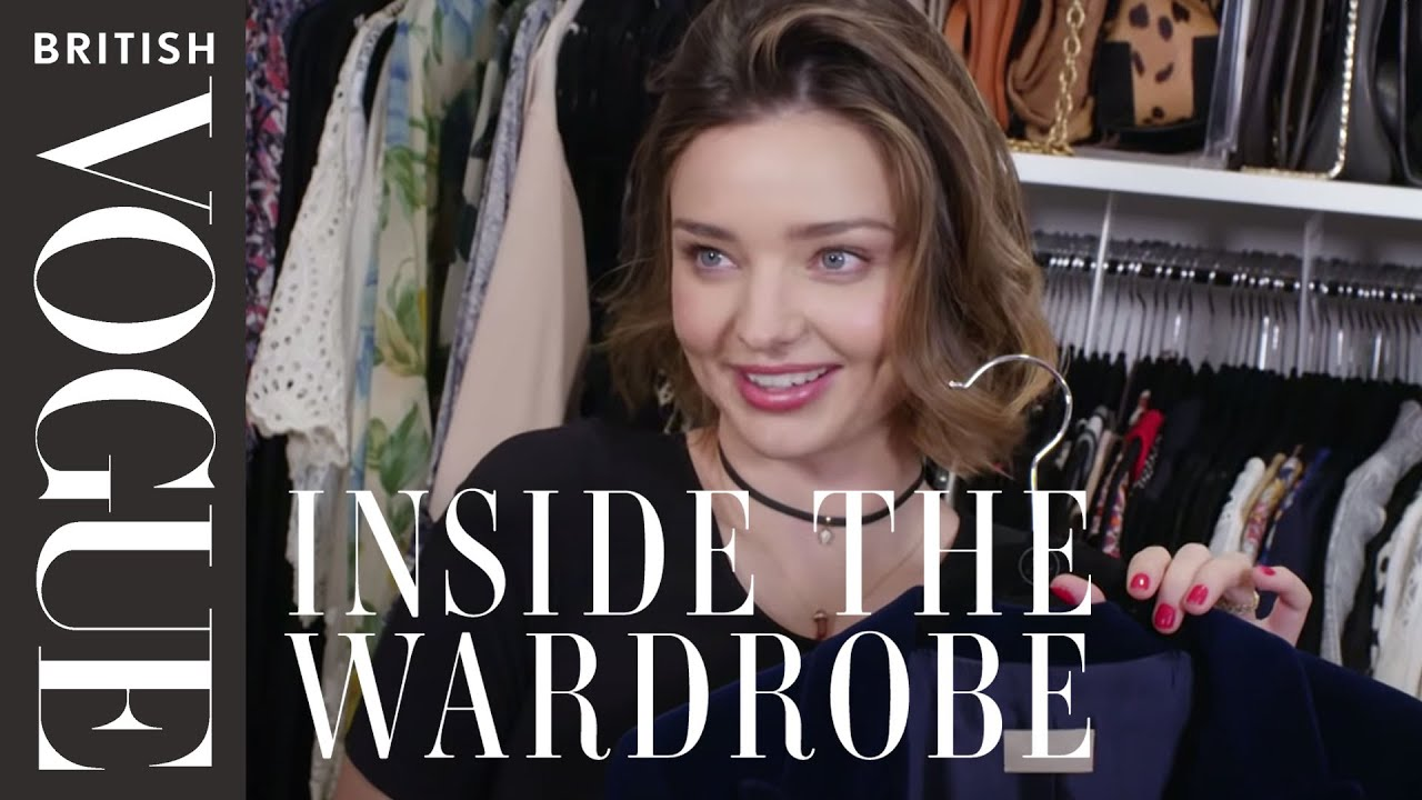 Miranda Kerr Inside The Wardrobe British Vogue