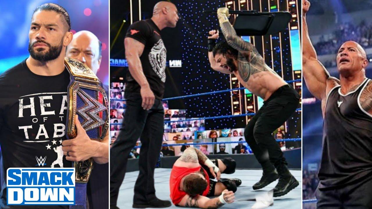 The Rock Returns to Face Roman reigns At WM ?! Great Khali's Team, Batista, WWE SmackDown Highlights
