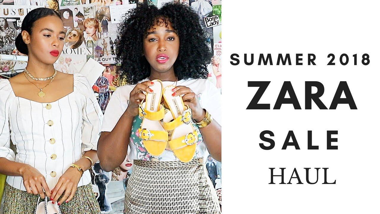 d994842dabbb7 ZARA SALE HAUL - SUMMER 2018 - YouTube