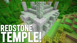 Minecraft: The Redstone Jungle Temple!
