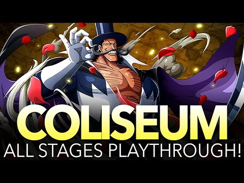 COLISEUM VISTA! STAGES 1 - 5 PLAYTHROUGH! (One Piece Treasure Cruise - Global)