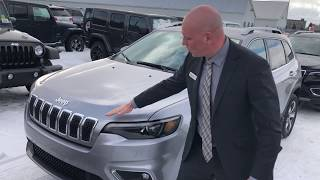 New 2019 Jeep Cherokee Limited 4x4 Walk Around Demo