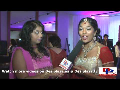 Sirisha talking to DesiplazaTV at South Asia Bridal Show 2013