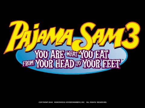 Pajama Sam 3: You Are What You Eat From Your Head To Your Feet Walkthrough