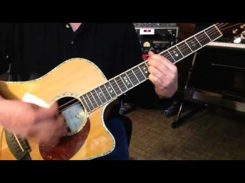 Alternate Tuning CGCGA#F - Key C Natural Minor