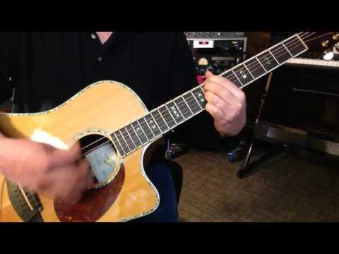 Alternate Tuning CGCGA#F - Key C Natural Minor