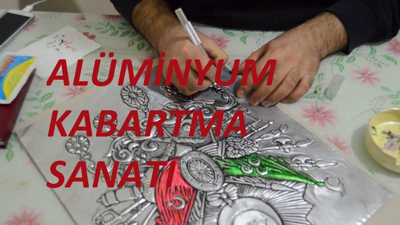 2017 Aluminyum Kabartma Sanati Osmanli Kabartma Sanati Rolyef
