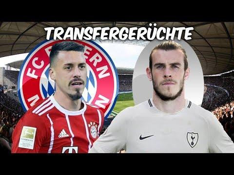 Wagner Wechsel zu Bayern fix ? | Bale zurück zu Tottenham ? | Transfers und Transfergerüchte 2017/18
