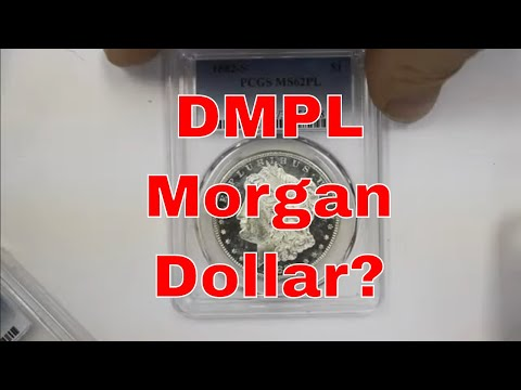 Robbed Of A DMPL Morgan Dollar? I Thought I Had A DMPL Buts PCGS Said No!