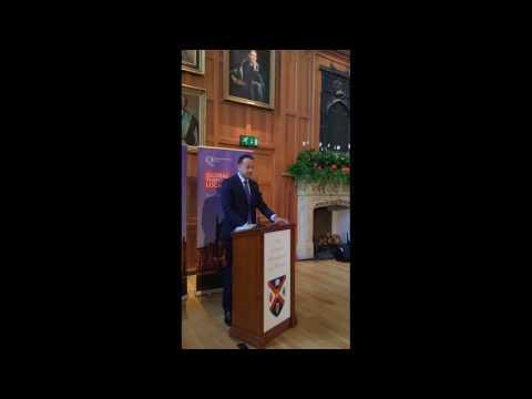 Visit by An Taoiseach, Leo Varadkar TD to Queen's