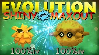 100% iv Shiny Pineco Evolution & Maxout to Forretress