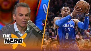 Colin compares the Thunder and Rockets - Why is Houston flourishing more than OKC? | THE HERD