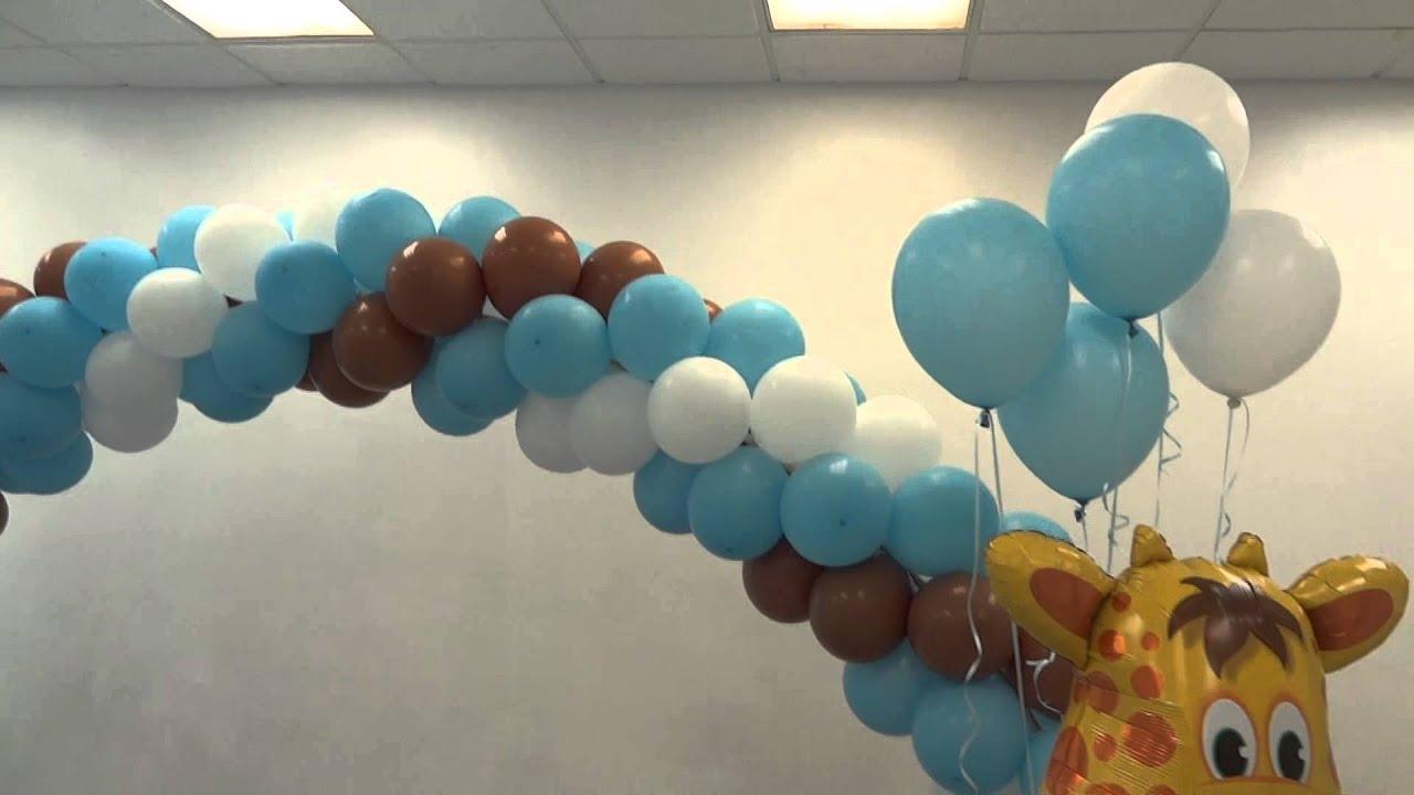 Party decorations miami baby shower balloon decorations - Baby Shower Decoration Party Rentals Miami Broward
