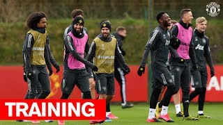 Reds train ahead of Club Brugge UEFA Europa League second leg | Manchester United