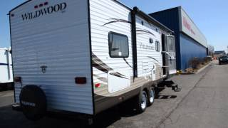 29721-2013 Forest River Rv Wildwood 26tbss Travel Trailer