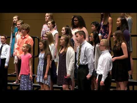 Haslett Middle School Spring Choir - May 17th, 2018