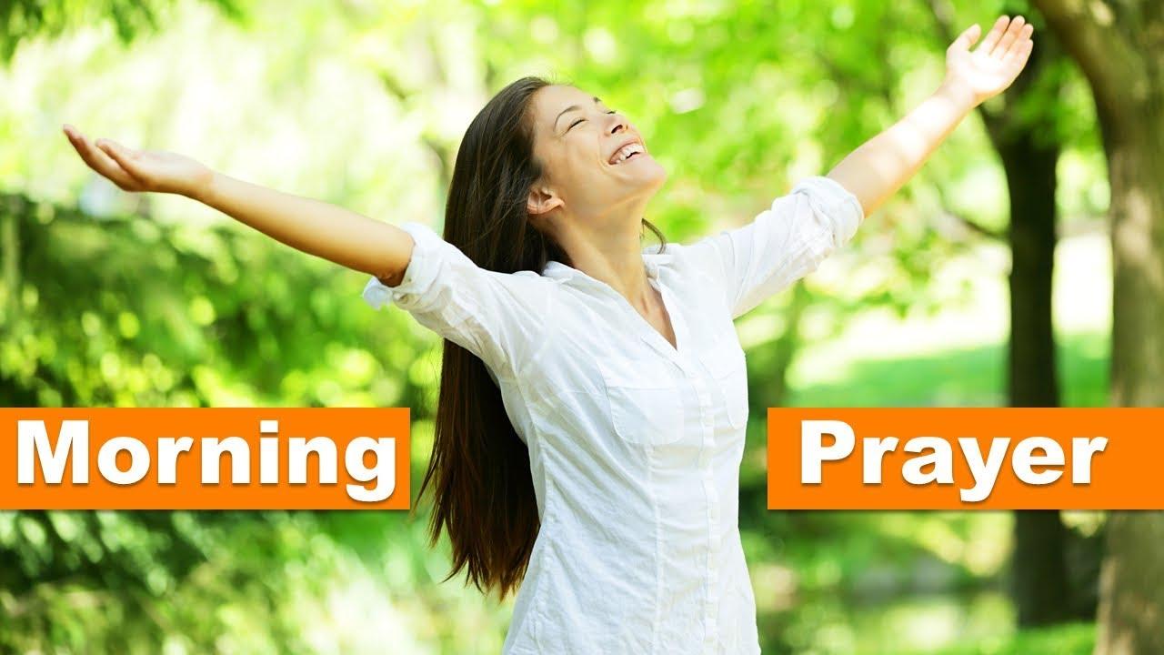 MORNING PRAYER SPEAKING GOD'S FAVOR OVER YOUR LIFE ✅